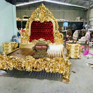 nội thất dát vàng
